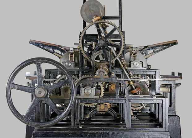 imprenta a vapor