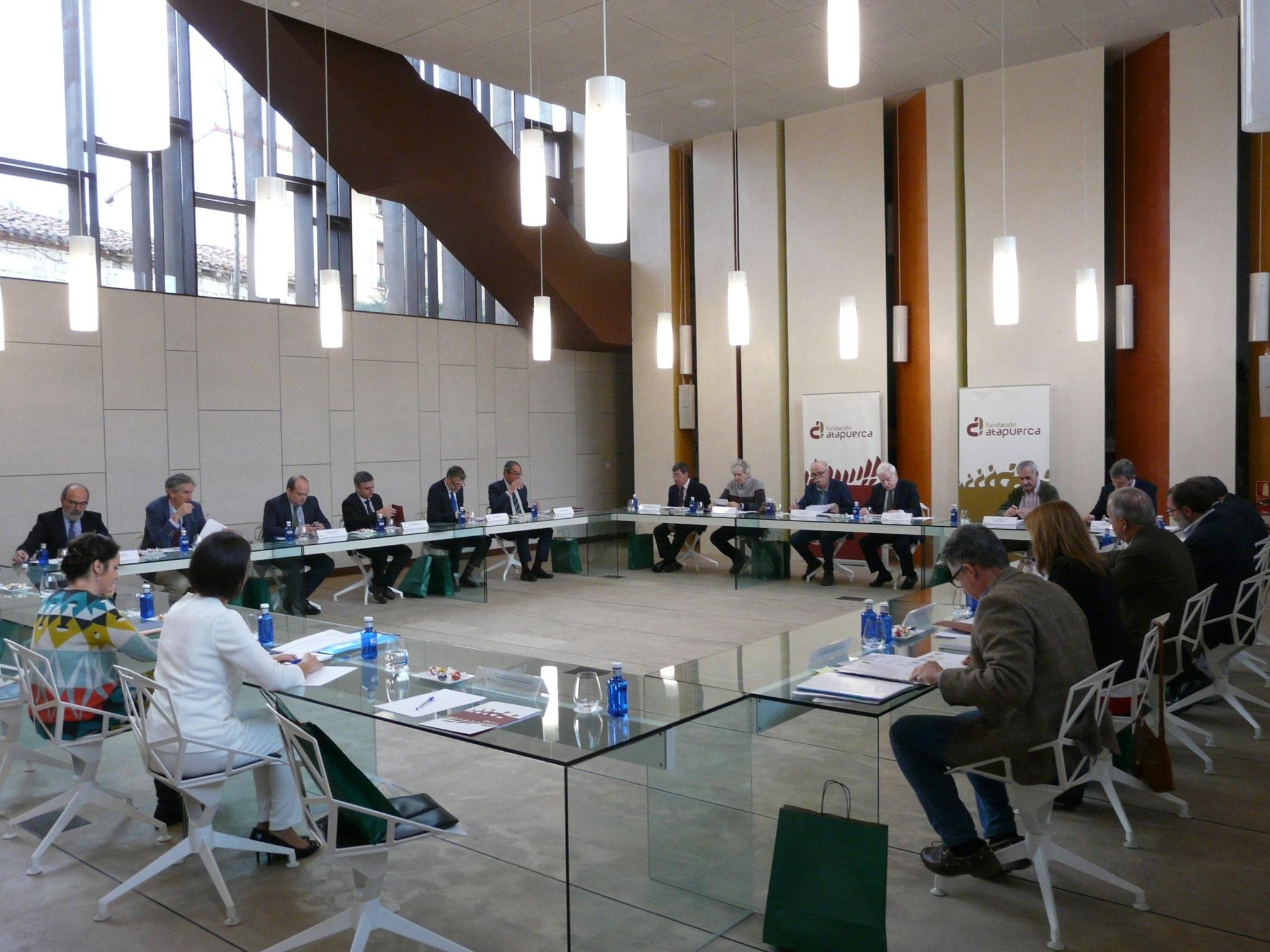 reunión fundación atapuerca