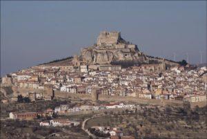 castillo de morella paisaje