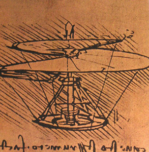 Boceto del tornillo aéreo