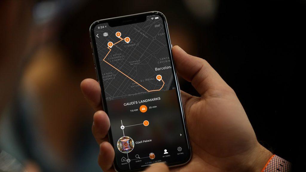 rutas app barcelona modernista