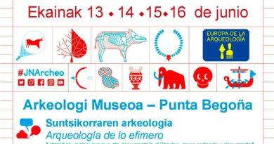 jornada europeas arqueologia 2019