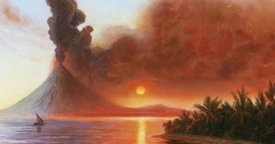 La erupción del Tambora