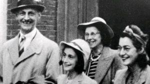 Ana Frank y su familia