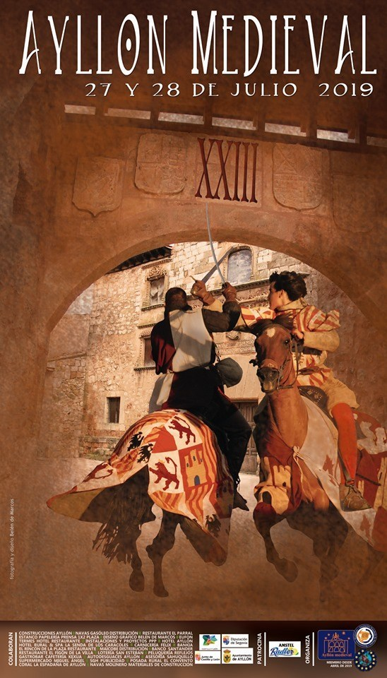 cartel-Ayllón-medieval 2019