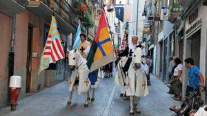 Desfile en la Semana Medieval