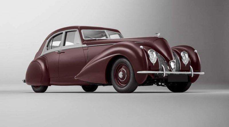 Arqueología mecánica, recrean el Bentley Corniche del 1939