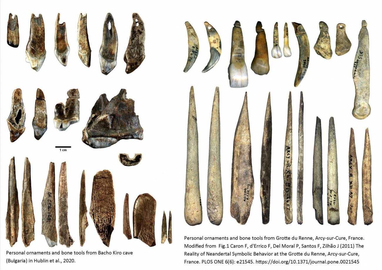 puntas lanza-de-humanos-modernos-y-neandertales